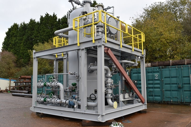Induced Gas Flotation Vessel GFSA